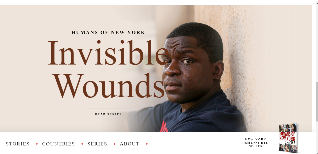 Humans of New York, a prolific story- and human-led instagram account and website