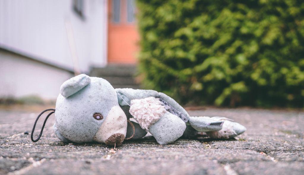 broken blue teddy bear on the road Trym Nilsen / Unsplash