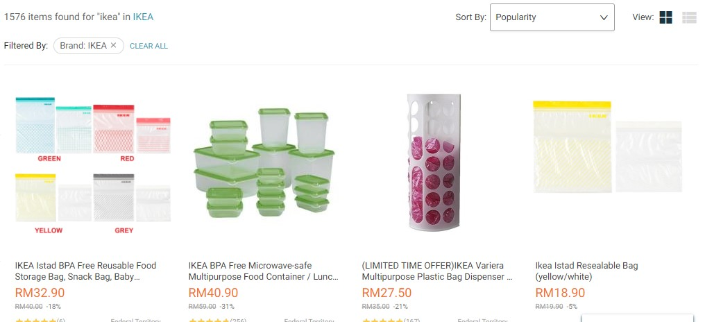 IKEA is also on Lazada, one of Asia's largest and most profitable online marketplaces